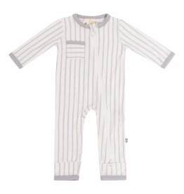 Kyte Baby Kyte Baby Bamboo Zippered Romper - Storm Stripes