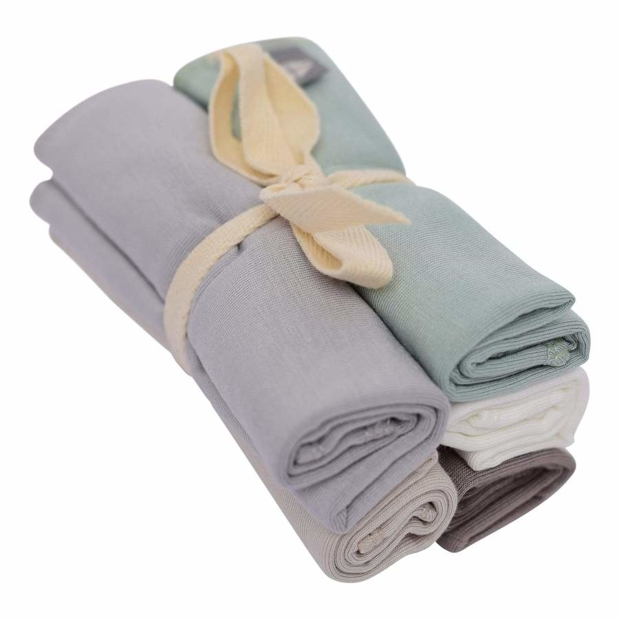 Kyte Baby Kyte Baby Bamboo Washcloth 5-pack (multicolor)