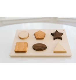 Bannor Toys Chunky Shape Wooden Puzzle