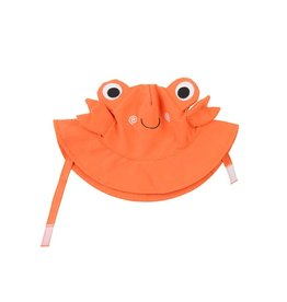 Zoochini Baby Sun Hat UPF50 - Charlie the Crab (6-12 mo)