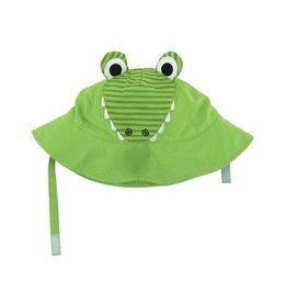 Zoochini Baby Sun Hat UPF50 - Aidan the Alligator