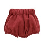 Emerson and Friends Gauze Baby Bloomers - Brick