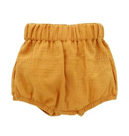 Emerson and Friends Gauze Baby Bloomers - Mustard