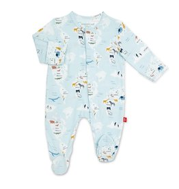 Magnetic Me Magnetic Me Modal Footie- Sea The World (preemie)