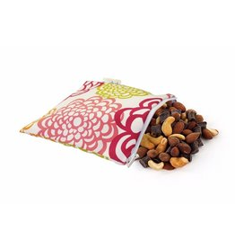Itzy Ritzy Itzy Ritzy Snack Happens Reusable Snack & Everything Bag Fresh Bloom