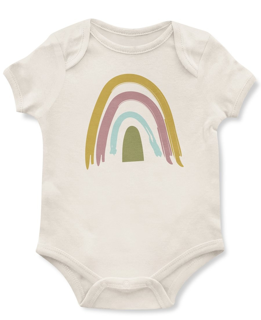 Emerson and Friends Rainbow Baby Onesie
