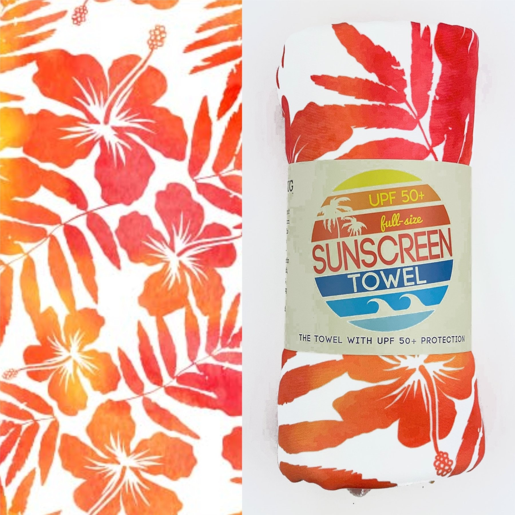 Luv Bug Co. Sunscreen Towel - Full Size UPF50