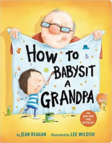Books How to Babysit a Grandpa - board book