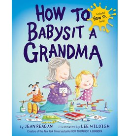 Books How to Babysit a Grandma - board book