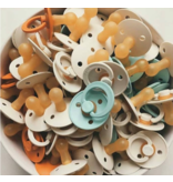 BIBS BIBS Classic Round Natural Rubber Pacifier (Single)