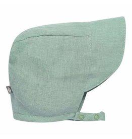 Kyte Baby Linen Sun Bonnet - Jade