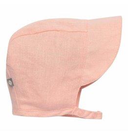Kyte Baby Linen Sun Bonnet - Peach