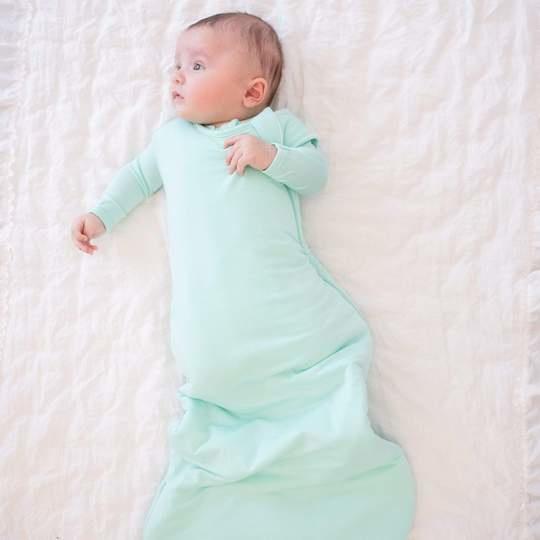 Kyte Baby Kyte Baby Bamboo Sleep Bag 1.0 TOG - Sea Mist