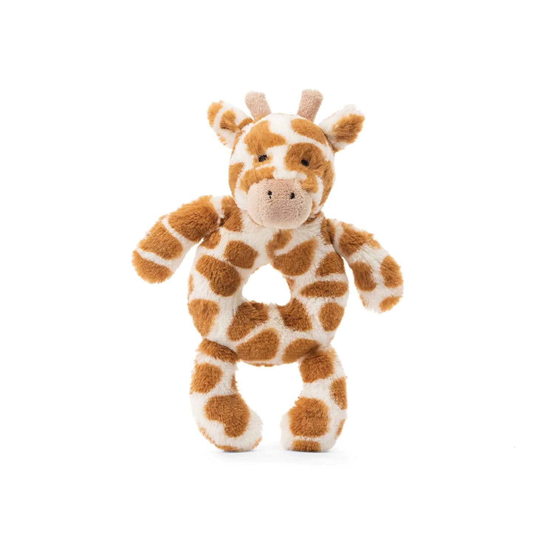 Jellycat Jellycat Bashful Giraffe Ring Rattle