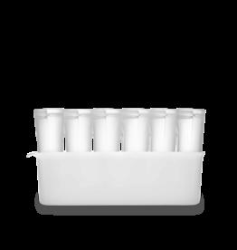 Zip Top Silicone Breast Milk Storage Set with Freezer Tray