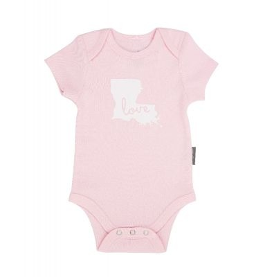 Ever Ellis Louisiana Onesie - Pink