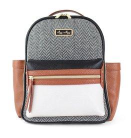 Itzy Ritzy Itzy Ritzy Mini Diaper Bag Backpack - Coffee & Cream