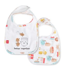Magnetic Me Magnetic Me Organic Reversible Bib - Better Together