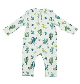 Angel Dear Cactus Romper - Ivory