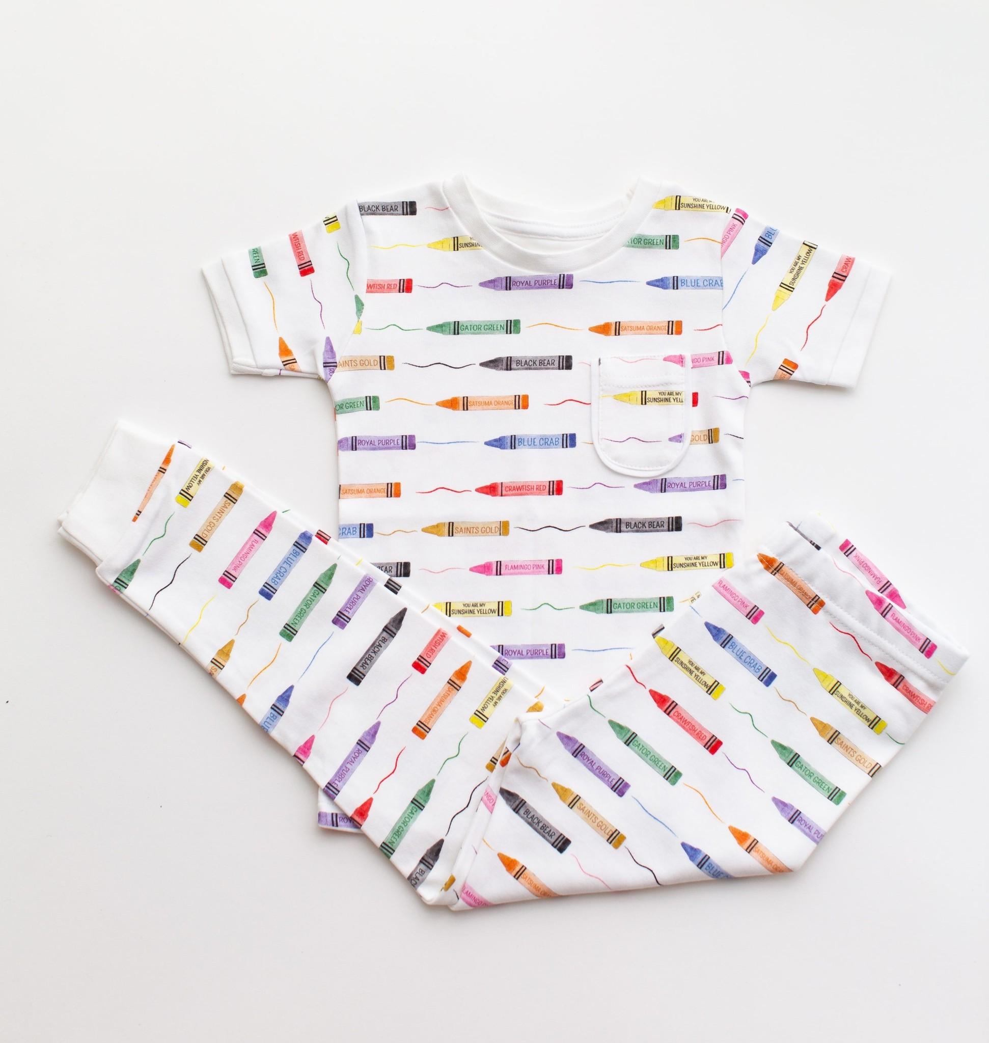 Nola Tawk Colors of LA - Organic Cotton PJs
