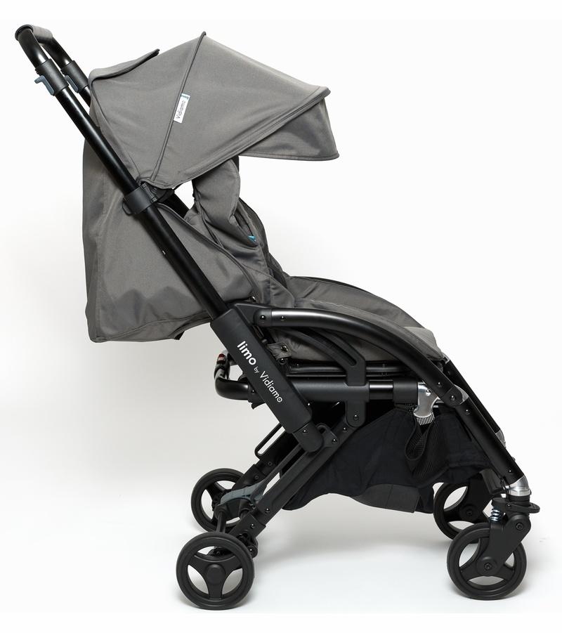 Vidiamo Vidiamo Limo Stroller - Carbon Grey