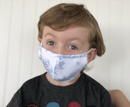 Maison Nola Kids Cotton Knit Storyland Mask
