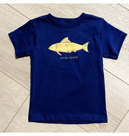 Two Sprouts Local Catch Toddler Tshirt - Navy