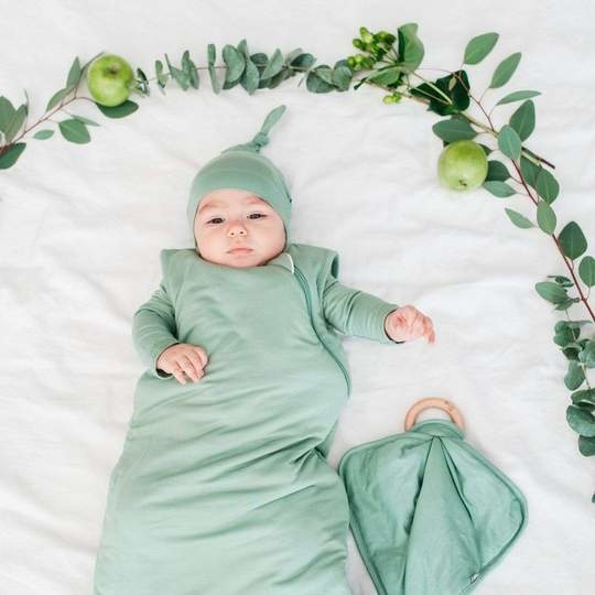 Kyte Baby Kyte Baby Bamboo Knotted Cap - Matcha