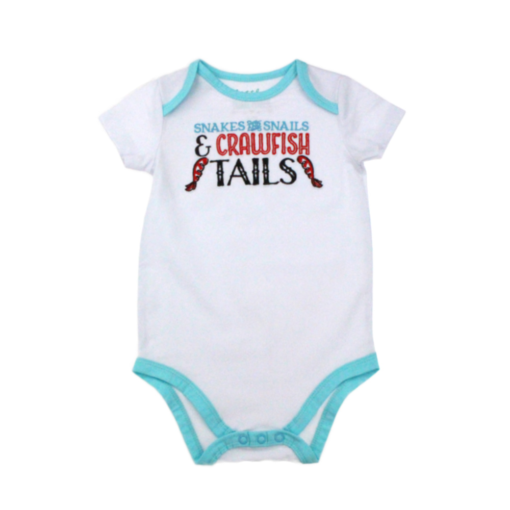 Little Hometown Crawifsh Tails Onesie (3-6 mo)