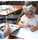 Urban Infant Kids Crayon Coloring Set Travel Wallet