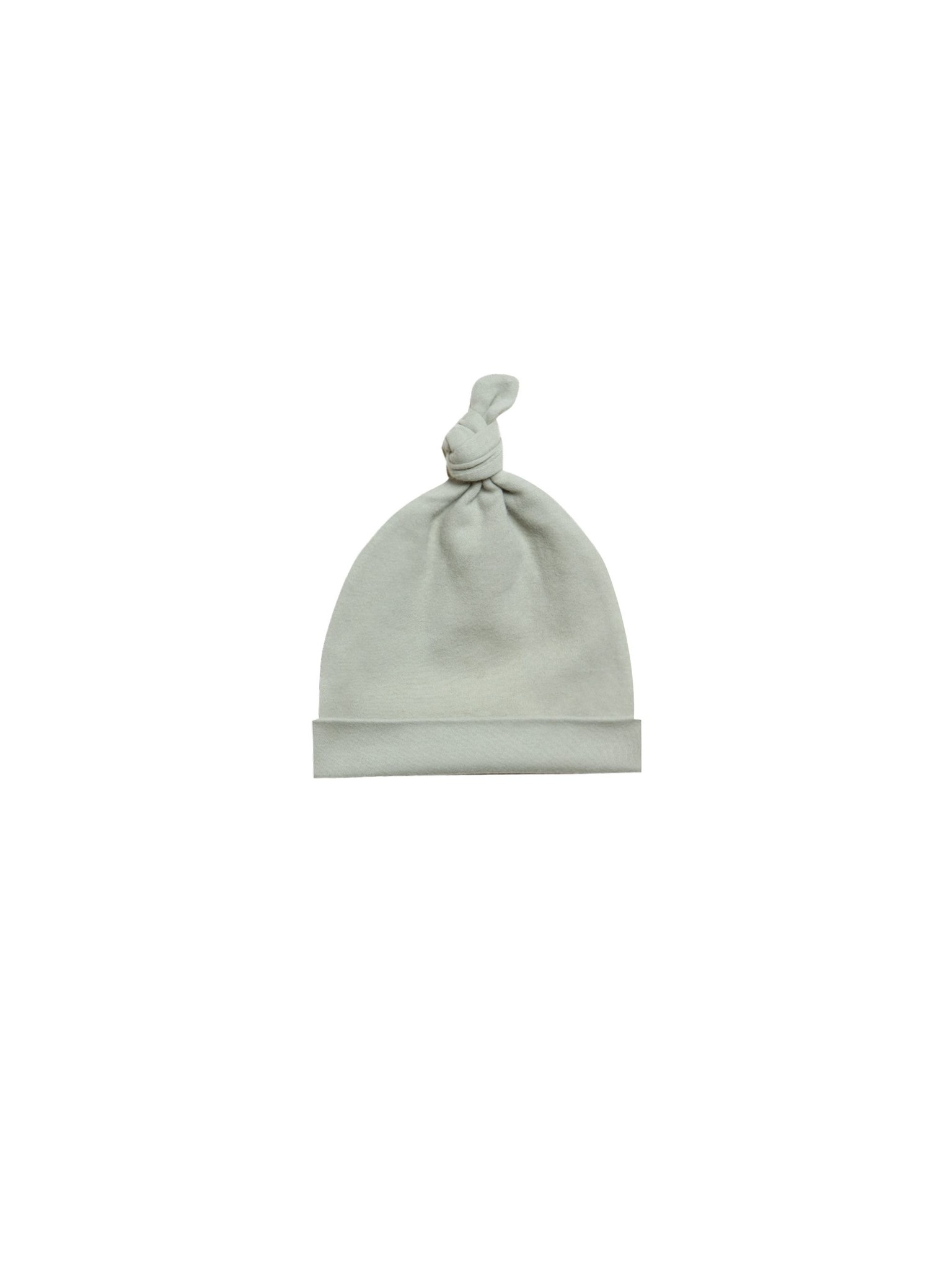 Quincy Mae Knotted Baby Hat - organic brushed jersey (0-6 mo)