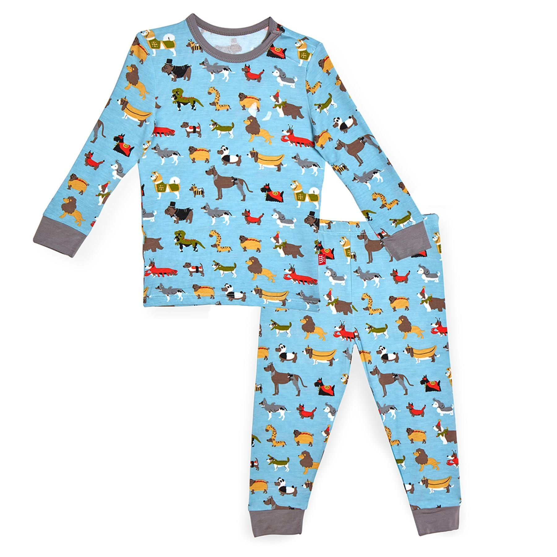 Magnetic Me Magnetic Me Modal Toddler 2-piece PJ Set - In-Dog-Nito