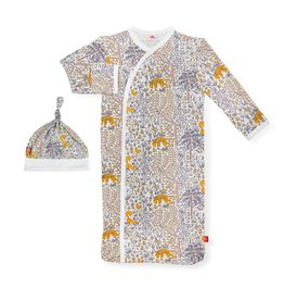 Magnetic Me Magnetic Me Modal Gown & Hat Set - Sumatra (0-3mo)