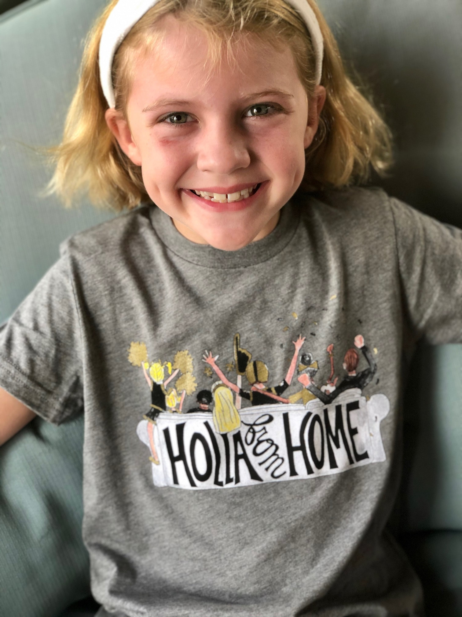 Two Sprouts Holla from Home Toddler T-shirt
