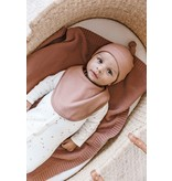 Quincy Mae Snap Bib - organic brushed jersey