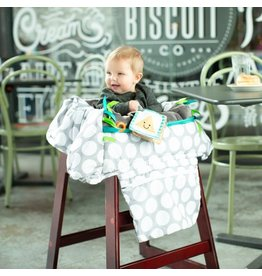 Boppy Boppy® Luxe Shopping Cart Cover -  Jumbo Dots
