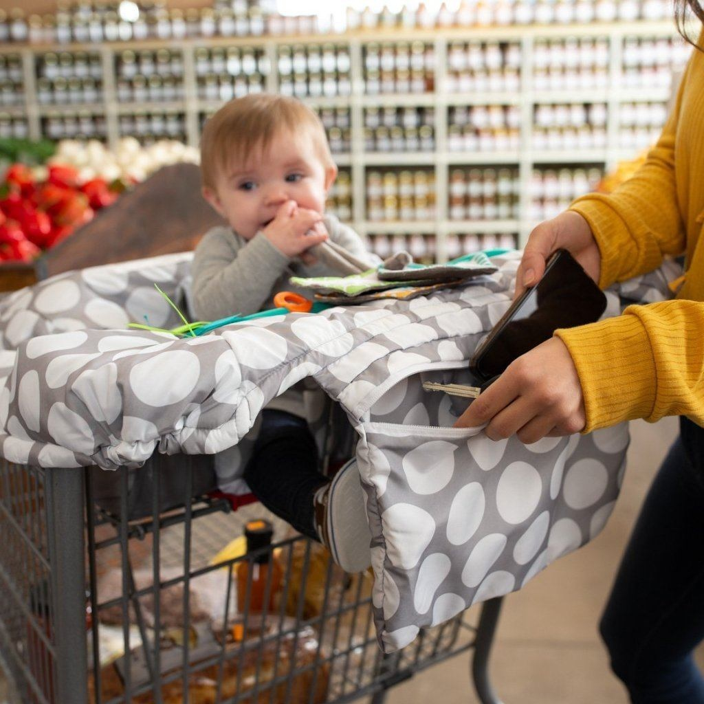 Boppy Boppy® Preferred Shopping Cart and High Chair Cover -  Jumbo Dots