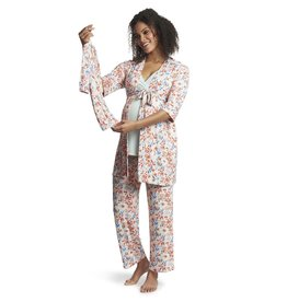Everly Grey Everly Grey Analise 5-Piece Mom & Newborn Baby PJ Set - Posy
