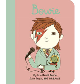 Books My First David Bowie (Little People, BIG DREAMS) board book