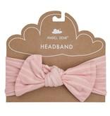 Angel Dear Pink Strip Hippo Headband - 0-12 mo