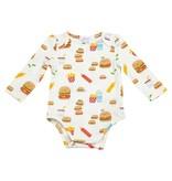 Angel Dear Burger Joint Lap Shoulder Bodysuit