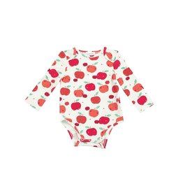 Angel Dear Apple Orchard Lap Shoulder Onesie