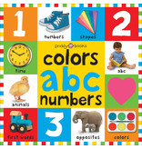 Books Colors, ABC, Numbers (First 100) (Big Board Book)
