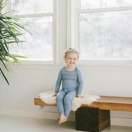 Kyte Baby Kyte Bamboo Toddler PJ Set - Slate