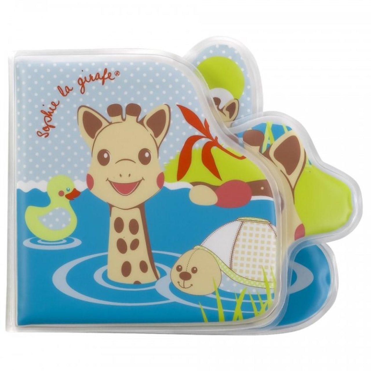 Calisson Sophie la Girafe Bath Book
