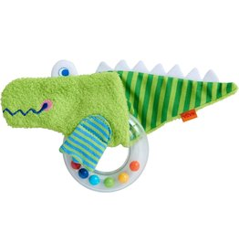 HABA Clutching Toy Alligator Rattle