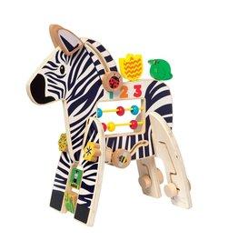 Manhattan Toys Safari Zebra (curbside/ local delivery exclusive)