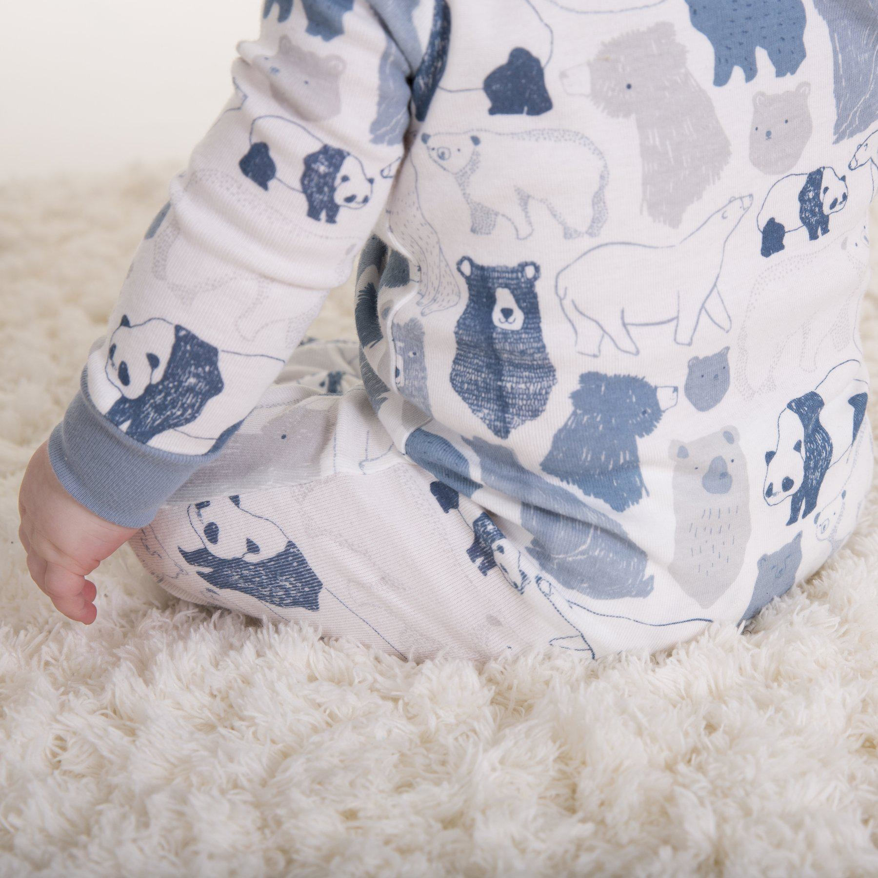 Magnetic Me Magnetic Me Organic Cotton Footie - Unbearably Cute