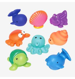 Elegant Baby Sea Party Squirtie Baby Bath Toys