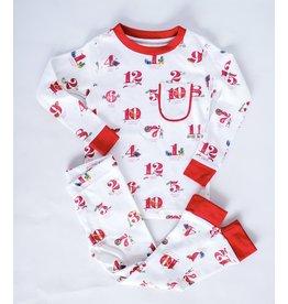 Nola Tawk 12 Days of Louisiana Christmas Organic Cotton Pajama Set